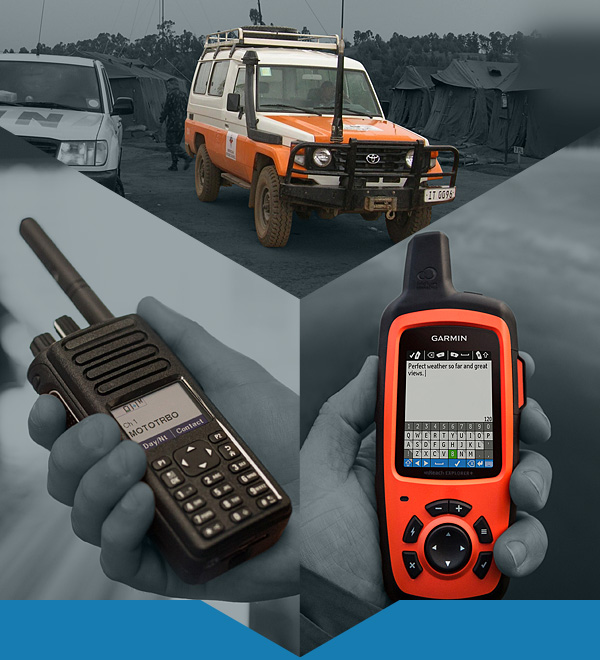 Personnel & vehicle tracking