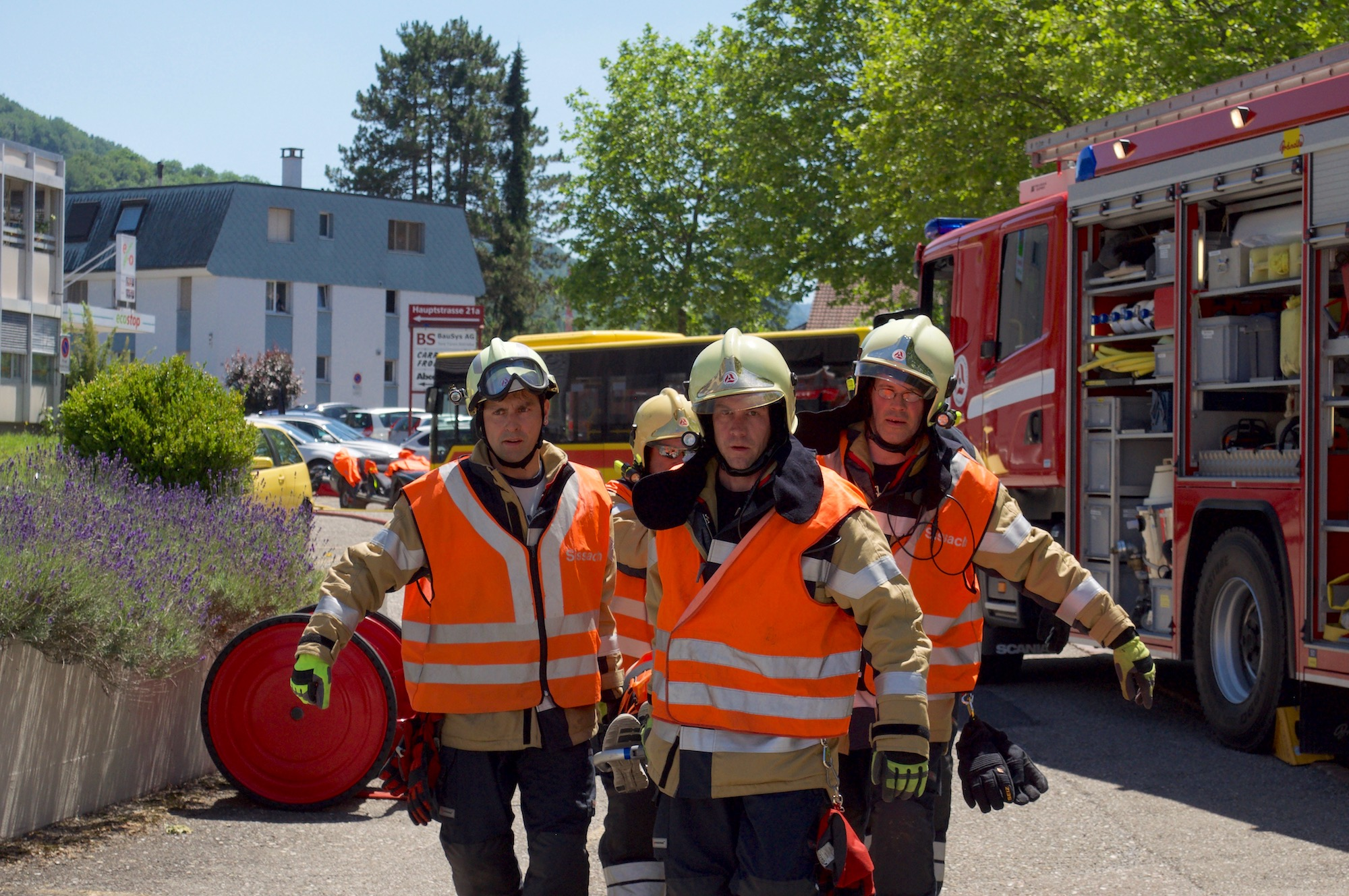 Intervention System for the Firebrigades of Switzerland